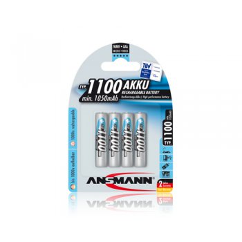 Ansmann Micro AAA typ 1100mAh 4kusy