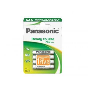 Panasonic Evolta AAA 750mAh RTU 4ks