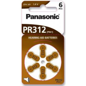 Panasonic PR 312/6LB