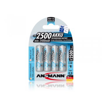 Ansmann Mignon AA typ 2500 maxE 4ks