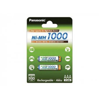 Panasonic BK-4HGAE/2BE AAA typ 1000mA 2ks