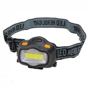 Čelová svítilna COB LED