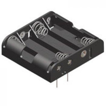 Keystone 2481 držák na baterie 4xAAA