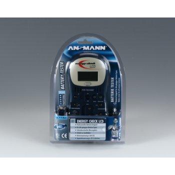 Ansmann Battery Tester Energy Check LCD - foto