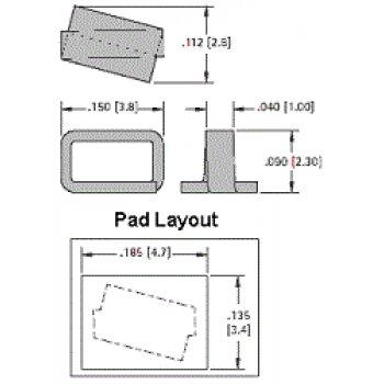 Keystone 5016 testovací bod GREEN, mini
