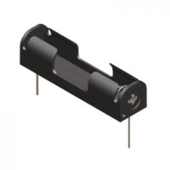 Keystone 2466 držák baterie 1xAAA, plastový